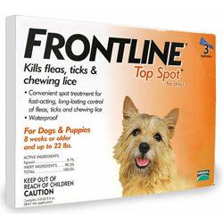 Frontline-Top-Spot-Small-Dogs-0-22-lbs-Orange